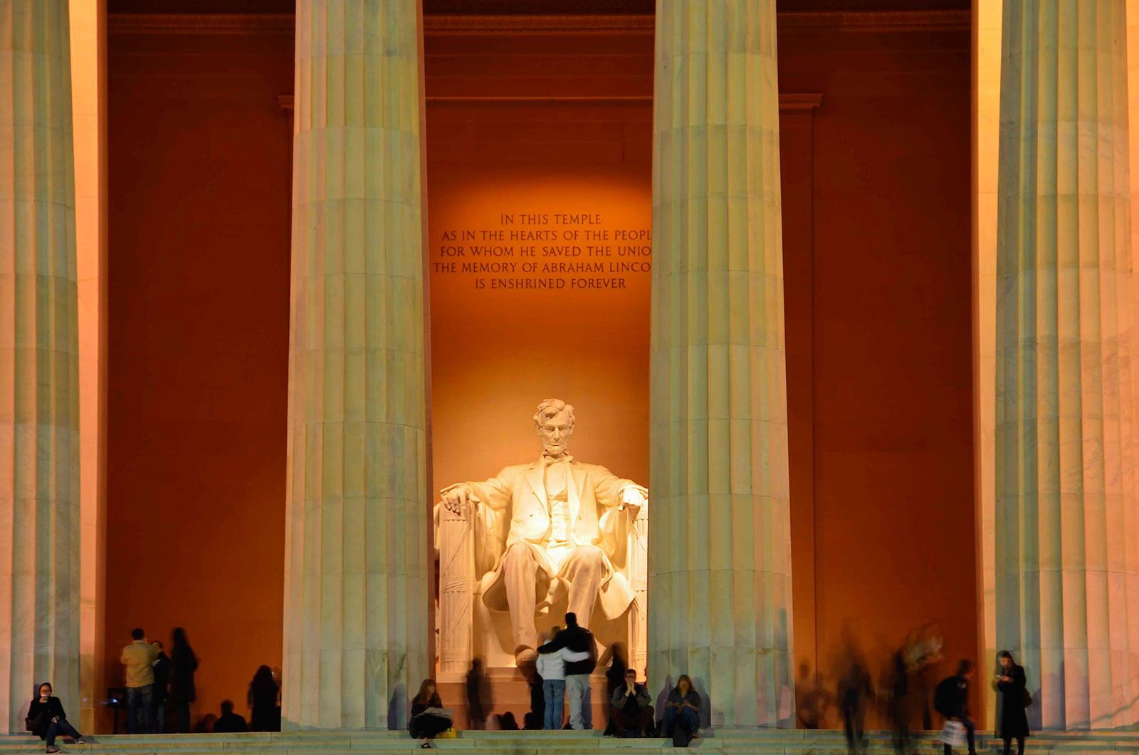 Visiting The Lincoln Memorial Washington Org