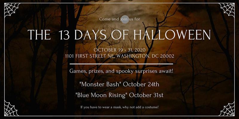 13 Days of Halloween at Wunder Garten