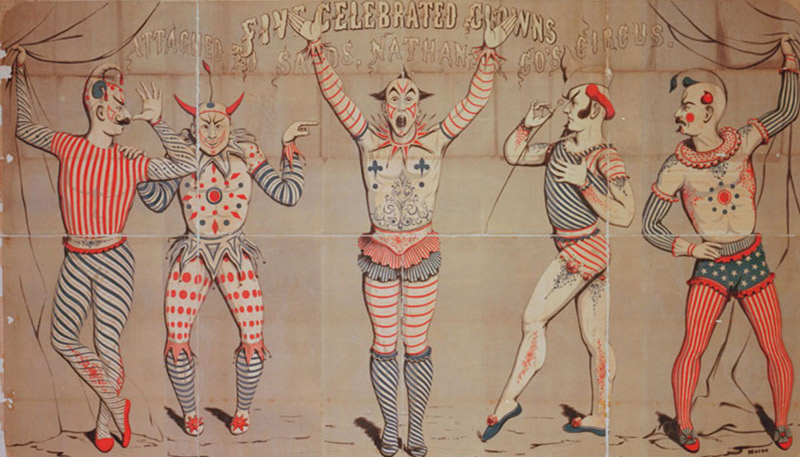 The Circus Arts - Theme for the 2017 Smithsonian Folklife Festival in Washington, Dc