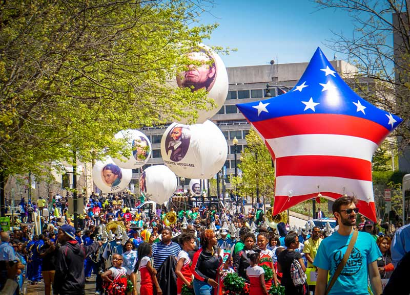 2016 Emancipation Day Parade in Washington, DC