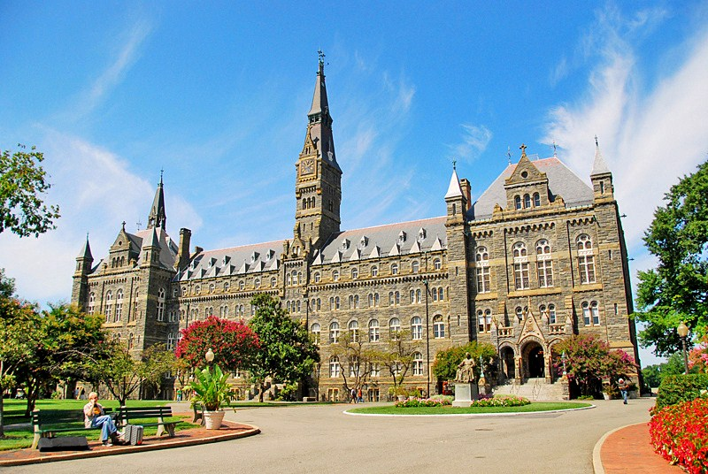 Georgetown University Tours Washington Dc