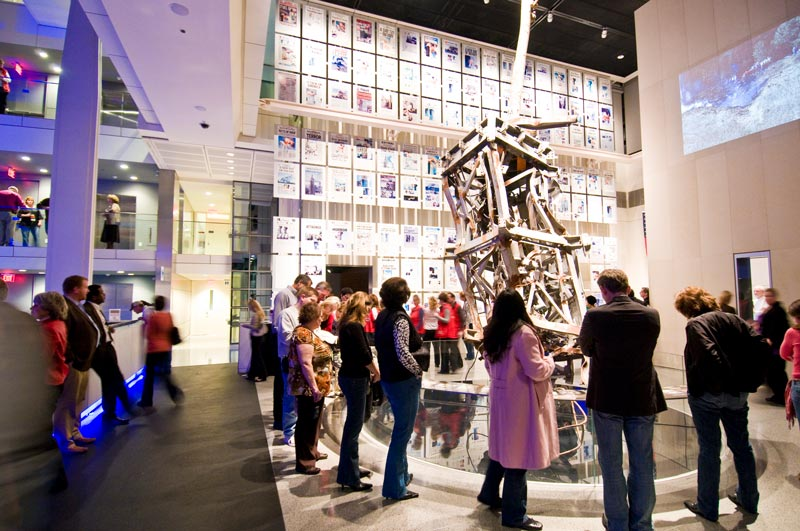 The 9-11 Gallery at the Newseum in Washington, DC - Reasons to visit the Newseum before it closes