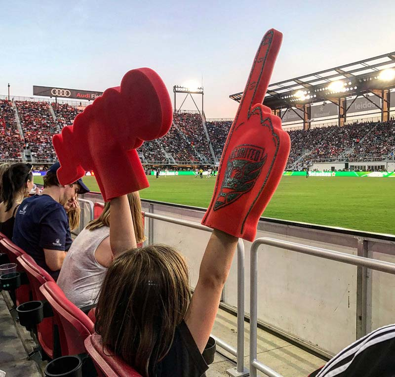 @abc7dc - Young fan at D.C. United game at Audi Field - The best things to do in Washington, DC