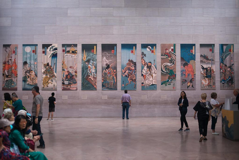 @acraftymitch - Free art exhibit at the National Gallery of Art East Building on the National Mall in Washington, DC