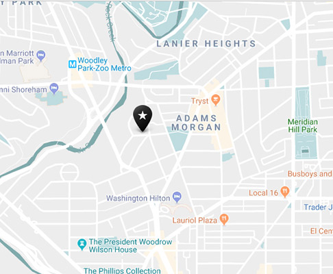 adams morgan neighborhood map