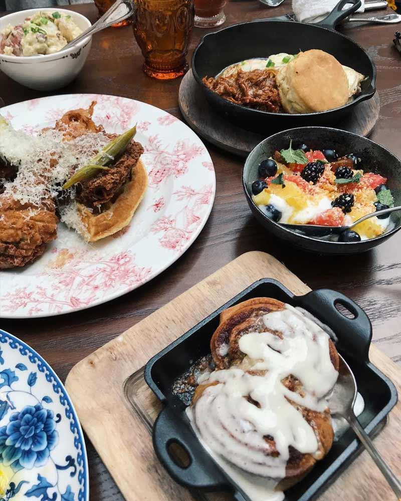 @aejohnson9 - Brunch at Succotash Restaurant - Places to eat in Washington, DC