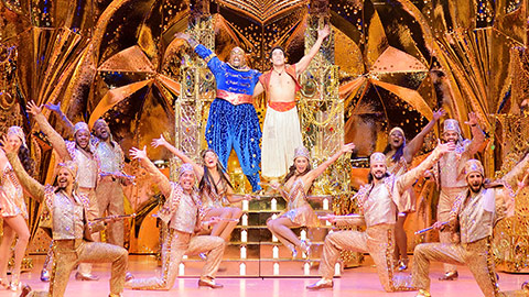 'Disney's Aladdin' at the John F. Kennedy Center for the Performing Arts on July 18 – Sept. 7