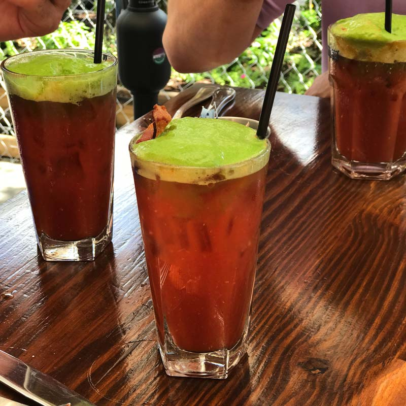 @allthefoodfeels - Bloody Mary with bacon - Summer food and drink trends in Washington, DC