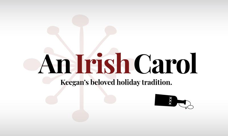 An Irish Carol - winter and holiday play at the Keegan Theatre in Washington, DC