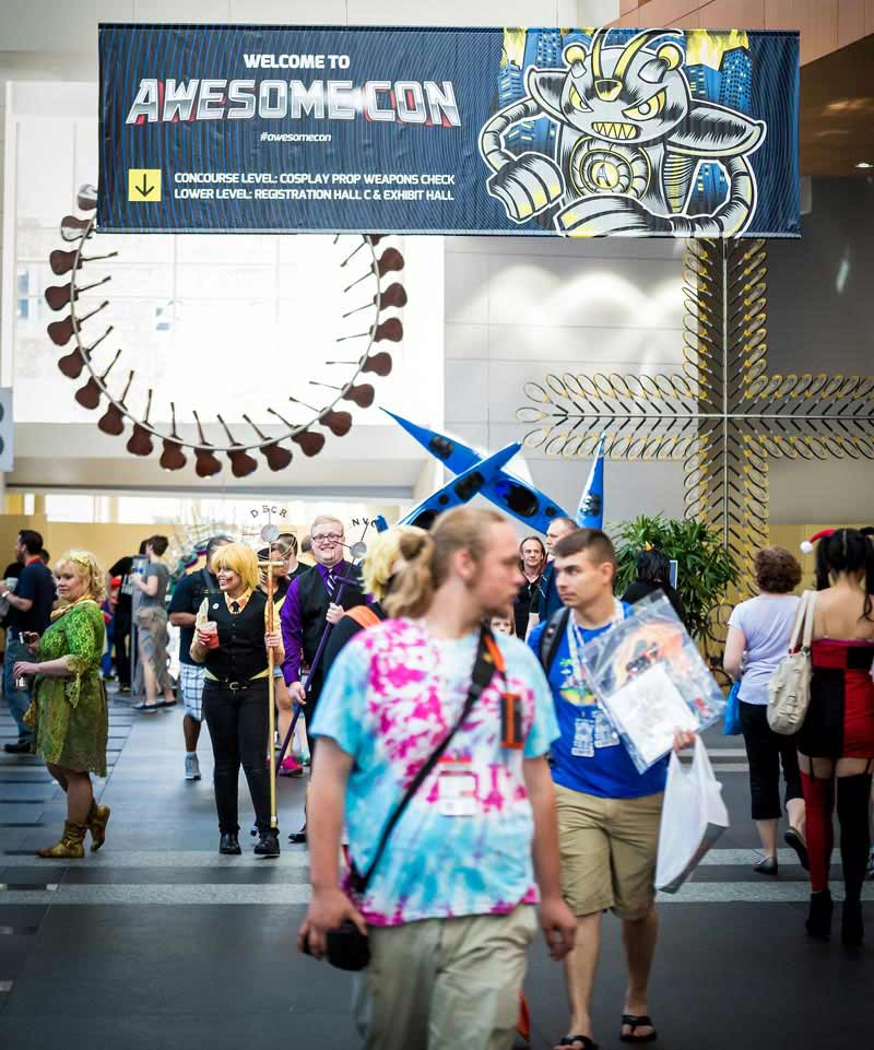 Awesome Con - Events at the Walter E. Washington Convention Center in Washington, DC