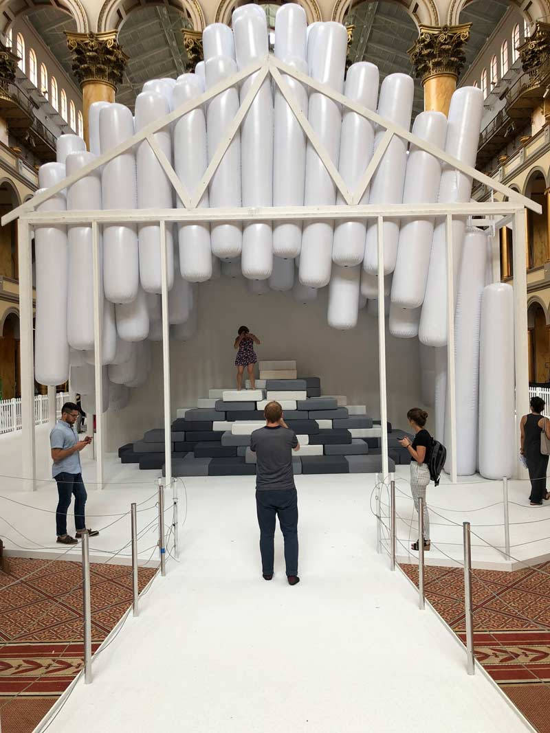 The best family-friendly activities this summer in Washington, DC - 'Fun House' at the National Building Museum