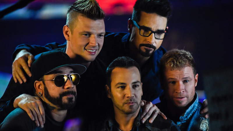 Backstreet Boys at Capital One Arena on July 12