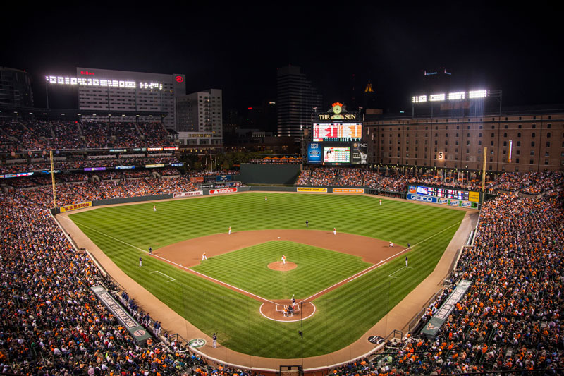 Baltimore Orioles - Camden Yards - Baltimore, Maryland