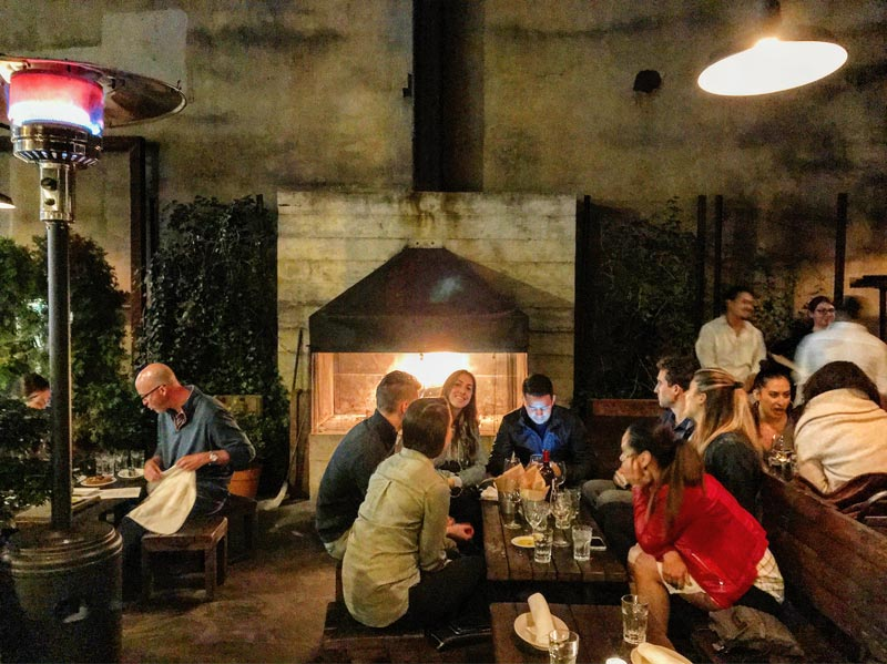 Restaurants With Fires To Cozy Up To In DC Washingtonorg - Table restaurant dc
