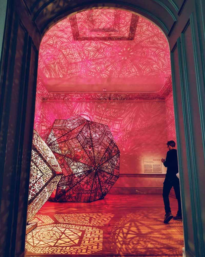 The Art of Burning Man Exhibit at the Smithsonian Renwick Gallery - Free Art Museum in Washington, DC