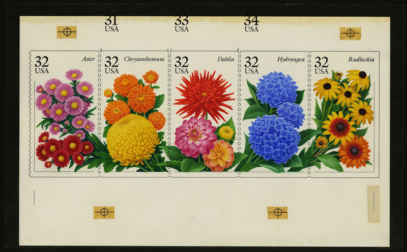 'Beautiful Blooms: Flowering Plants on Stamps' Exhibit at the National Postal Museum - Free Smithsonian Museum in Washington, DC