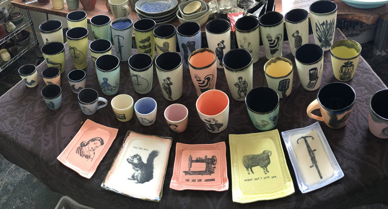Belle Epoque Pottery - Made in DC Pottery - Shop Local in Washington, DC