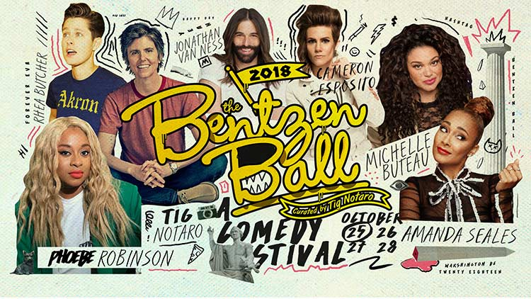 The Bentzen Ball Comedy Festival - Fall comedy shows in Washington, DC