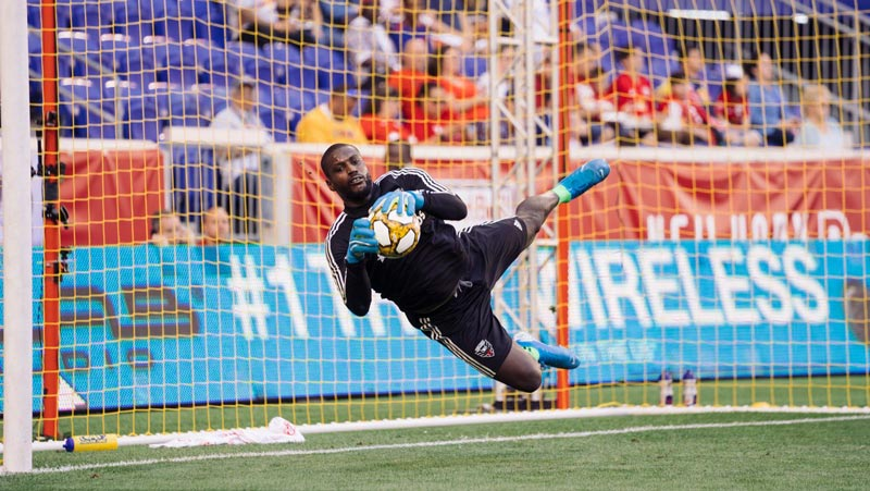 Bill Hamid of D.C. United