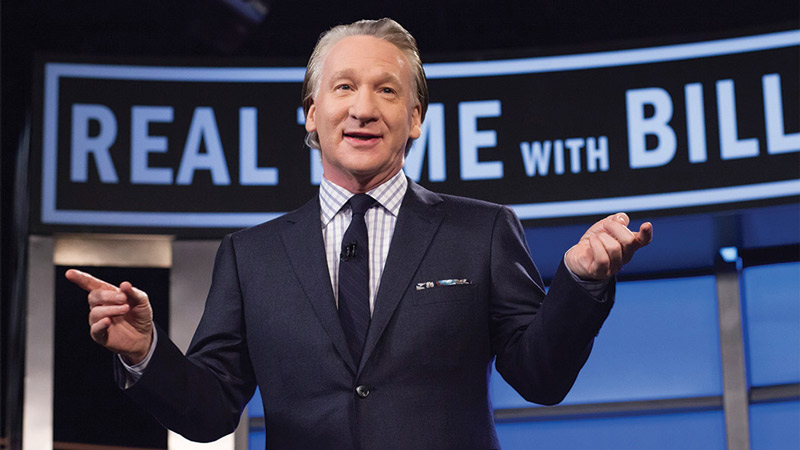 Bill Maher at DAR Constitution Hall - Events this July in Washington, DC
