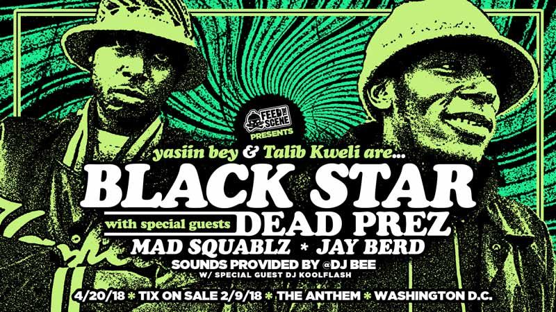 Black Star w/ Dead Prez and Special Guests - Concert at The Anthem in Washington, DC