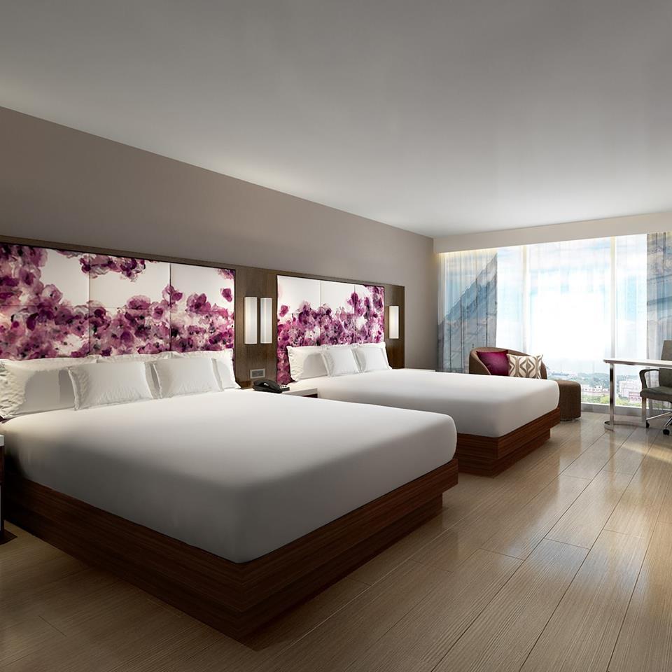 Hotel room at the Hilton Washington DC National Mall - New hotel in Washington, DC