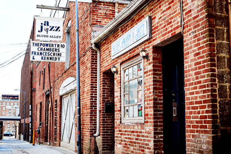 Blues Alley Jazz Club - Historic Georgetown - Washington, DC