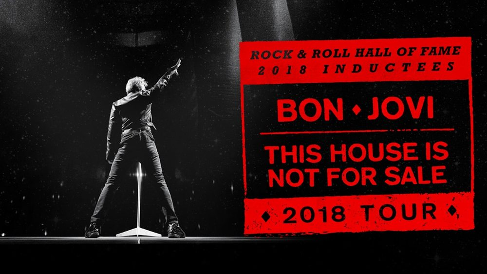 Bon Jovi concert at Capital One Arena - Spring concerts in Washington, DC