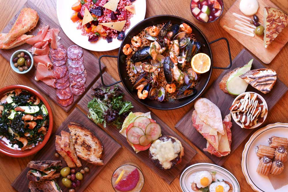 Boqueria Tapas Spread Washington, DC