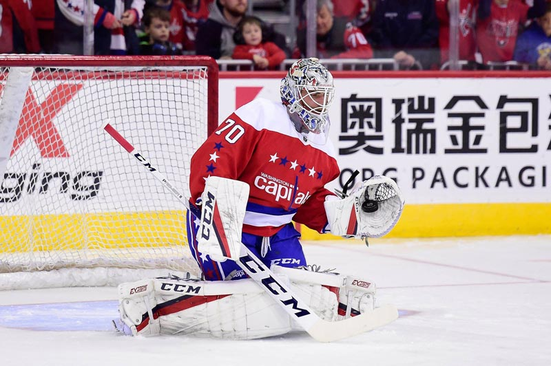 Braden Holtby of the Washington Capitals - Can't-miss Washington, DC sports superstars