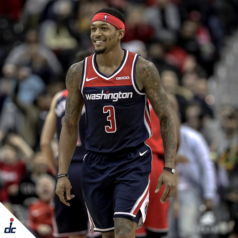 All-Star guard Bradley Beal of the NBA's Washington Wizards - Reasons to see the Wizards in DC