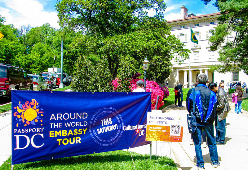 Passport DC - Tour Embassies in Washington, DC - Things to Do This Spring