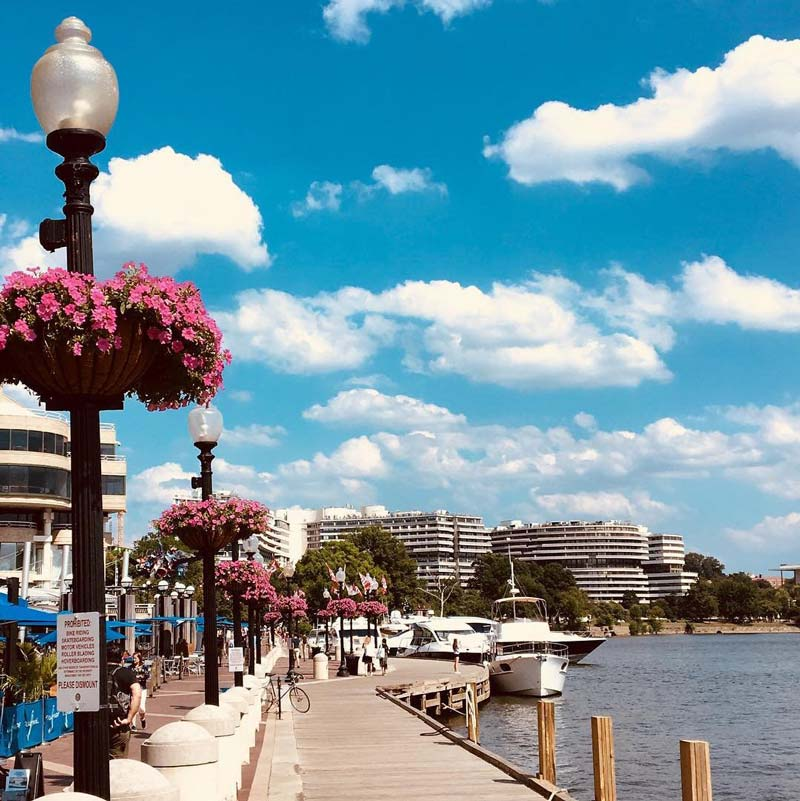 @briheartphoto - Summer day on the Georgetown Waterfront - Waterfronts in Washington, DC