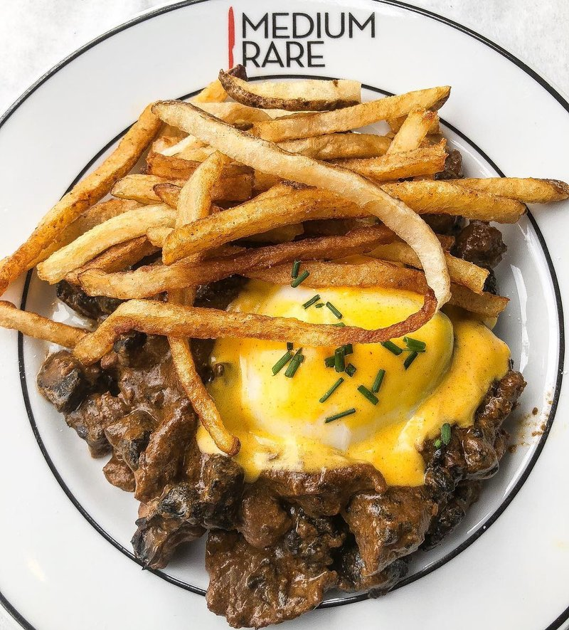 Steak Frites at Medium Rare