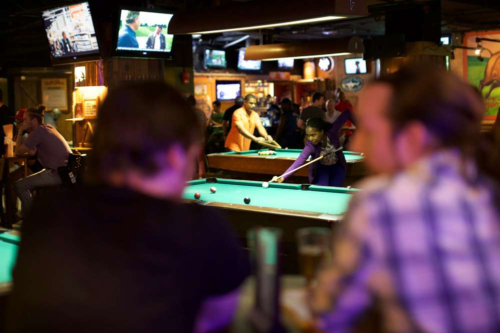 Buffalo Billiards - Places to Watch Sports, Eat and Drink in Dupont Circle - Washington, DC