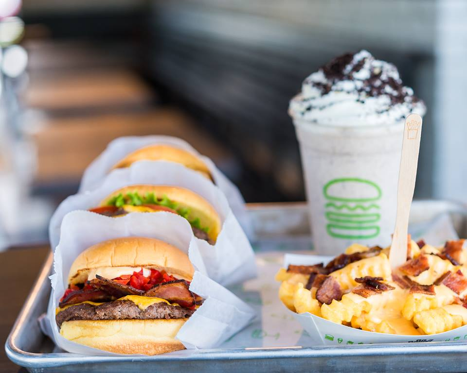 Burgers, fries and milkshakes from Shake Shack - Budget-friendly places to eat in Washington, DC