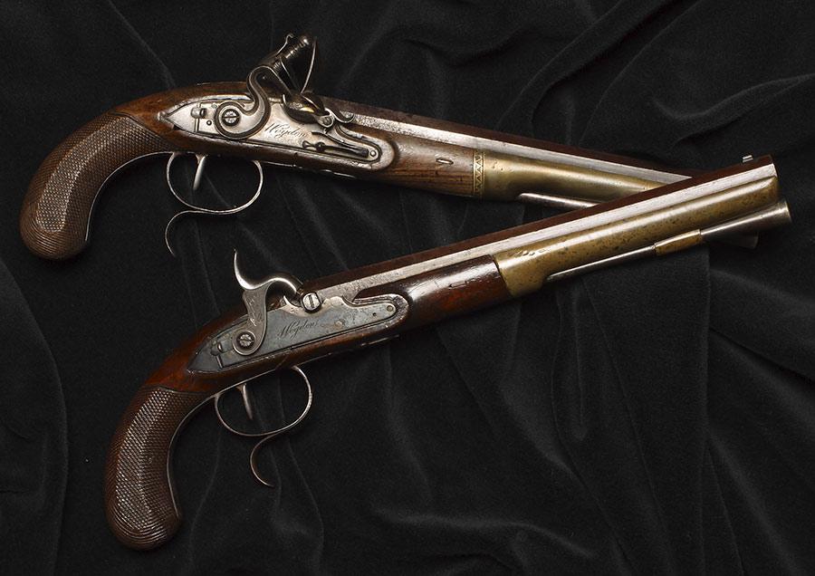 Hamilton-Burr Pistols | 'Alexander Hamilton: Soldier, Secretary, Icon' | National Postal Museum