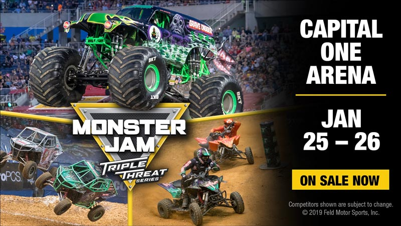 Monster Jam at Capital One Arena in Washington, DC