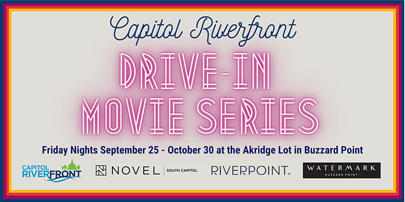 Capitol Riverfront Drive-in Movie series