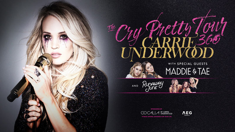 Carrie Underwood concert at Capital One Arena this October - Fall concerts in Washington, DC