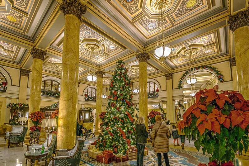 @ceelowphotographs - Holiday displays in The Willard InterContinental Hotel - Christmas and holiday events in Washington, DC