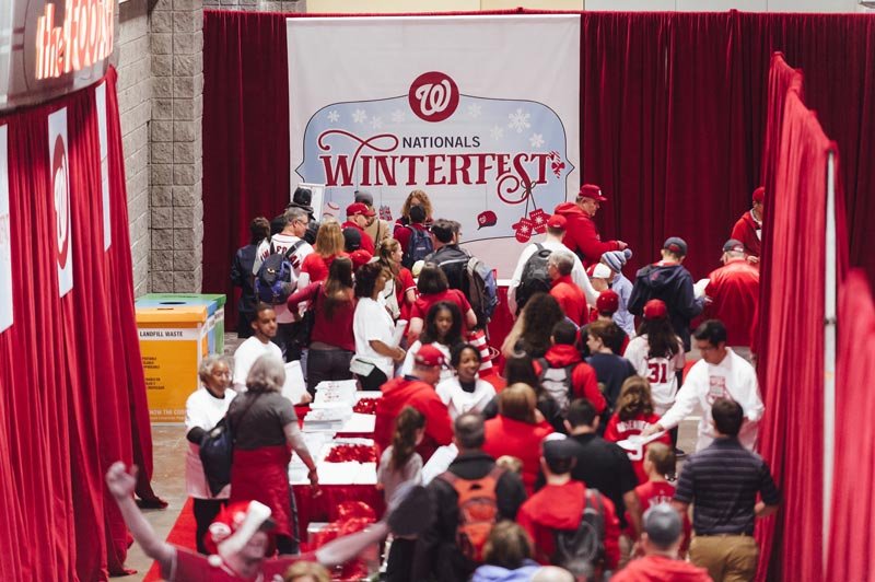 Washington Nationals Winterfest at the Washington Convention Center - Winter Family Friendly Event in Washington, DC