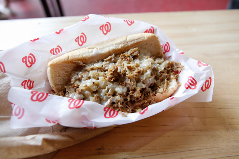 Washington Nationals concessions at Nationals Park - The best places to eat at Nats Park in DC