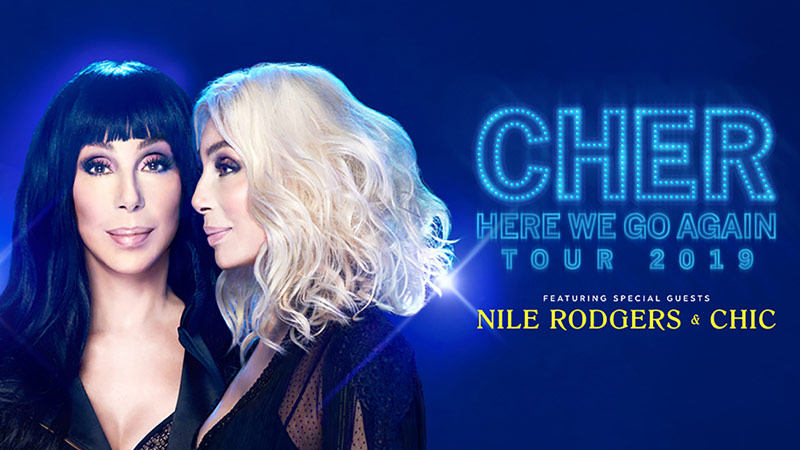 Cher Here We Go Again Tour at Capital One Arena in Washington, DC