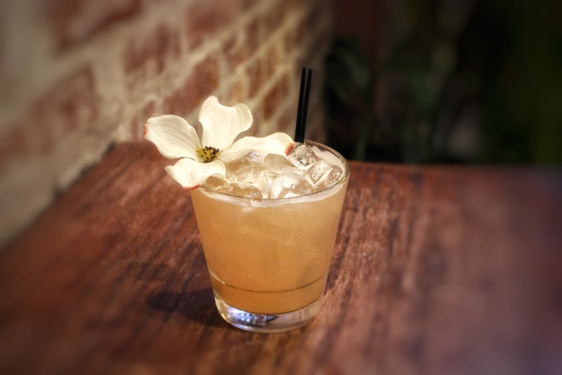 Cherries in Bloom cocktail from Ben's Next Door - Blossom-inspired drinks this spring in Washington, DC