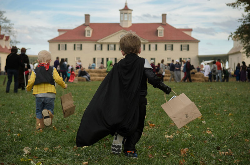 Trick-or-Treating at George Washington's Mount Vernon - Kid-friendly Halloween event near Washington, DC