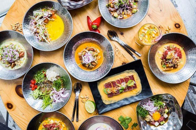 @chinachilcano - Ceviche dishes at China Chilcano - Jose Andres restaurant in Washington, DC