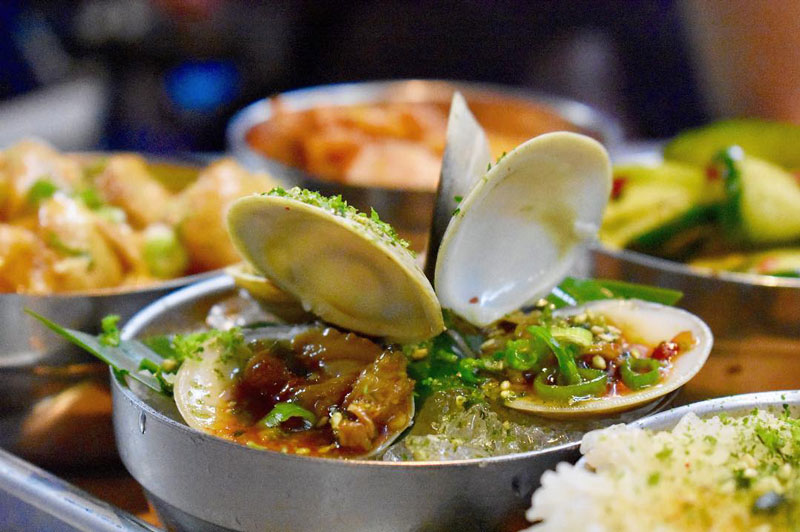 @choisauceboss - Clams from CHIKO on Barracks Row - Restaurant on Capitol Hill in Washington, DC