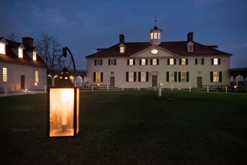 Christmas Celebration at George Washington's Mount Vernon near Washington, DC