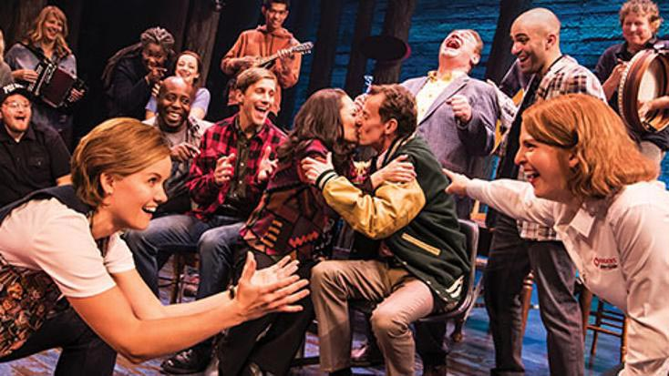 Come From Away Production Still from the Kennedy Center